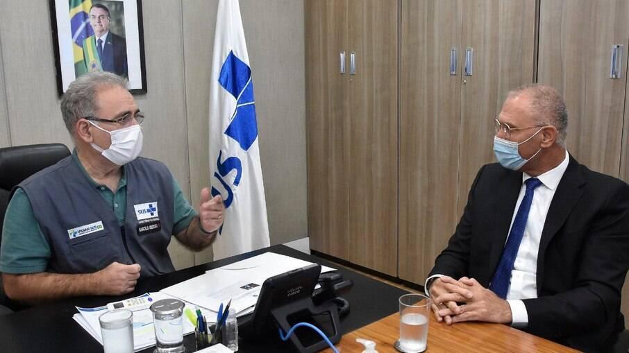 Marcelo Queiroga e Yossi Shelley falam sobre combate à pandemia