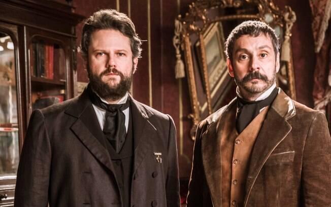 Nos Tempos do Imperador: Em reencontro, Dom Pedro II surra Tonico por motivo bizarro do passado