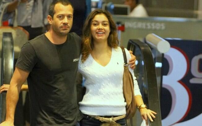13 ANOS: Sophie Charlotte (24 anos) e Malvino Salvador (37 anos). Foto: Photo Rio News