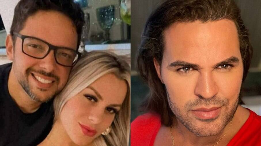 Eduardo Costa nega relacionamento com mulher casada mãe de três filhos