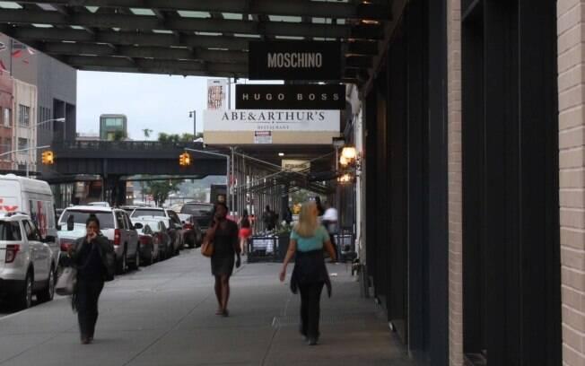 Região ao redor do High Line Park conta com boas opções de compras
