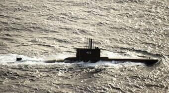 Submarino desaparecido tem oxigênio por 72h; buscas continuam
