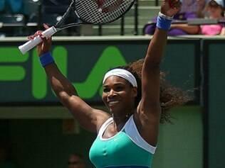 Serena avançou à final em Roma