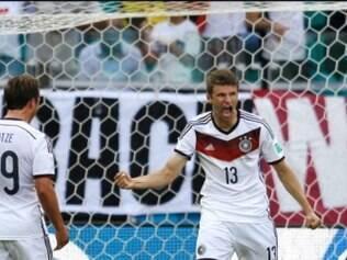 Müller foi o cara da goleada alemã por 4 a 0 sobre Portugal
