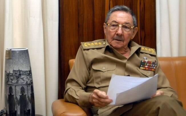 Ex-presidente de Cuba e atual presidente do Partido Comunista, Raúl Castro conduziu a Assembleia Constituinte