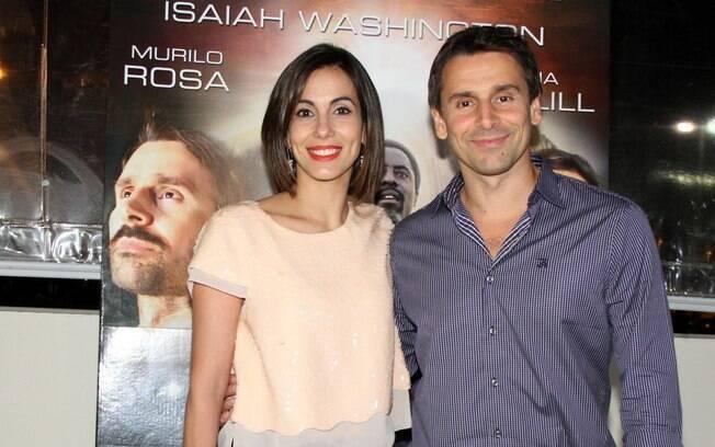 Murilo Rosa e Tania Khalill lançaram o filme