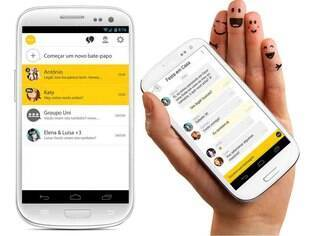 Disponível para Android, msngr é aplicativo de bate-papo em grupos que também funciona em aparelhos não tão inteligentes, mas que possuam conexão de dados