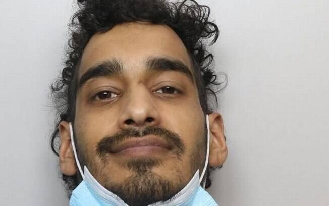 Rehan Malik, um dos criminosos que participaram da ação e acabou ferido