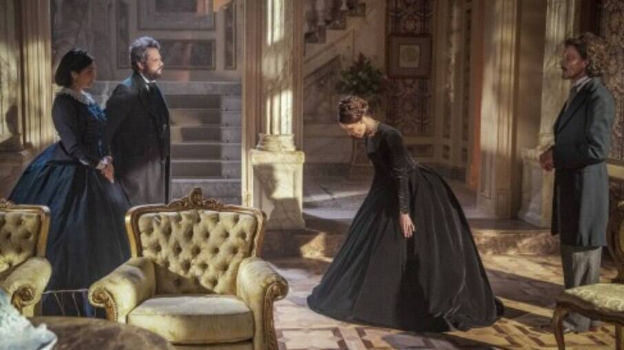D. Pedro e Luísa se encantam um pelo outro, em