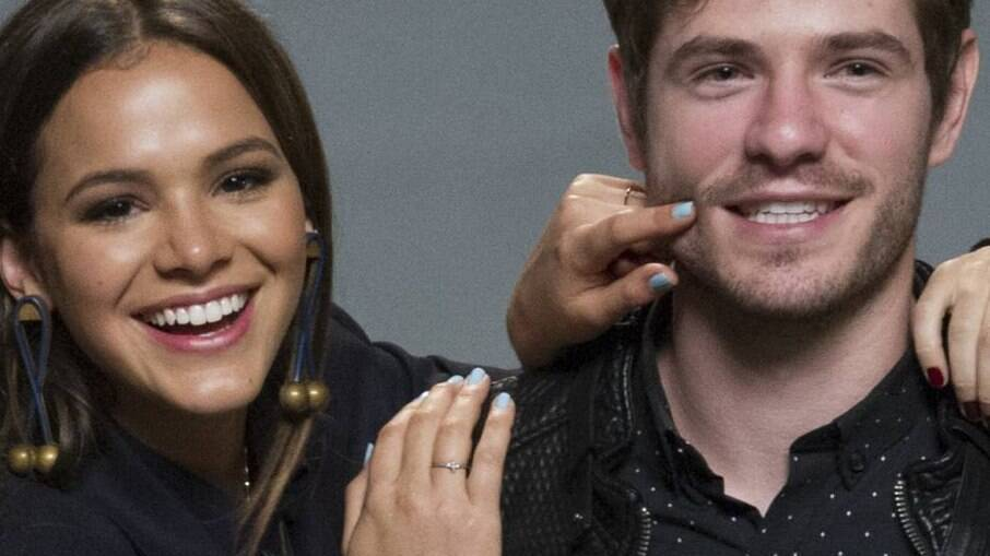 Bruna e Maurício se conheceram na novela I Love Paraisópolis, da TV Globo