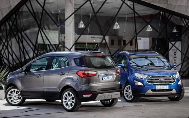 Ford EcoSport 2019 passa a ser oferecido sem estepe na traseira na versão Titanium com motor 1.5, de três cilindros