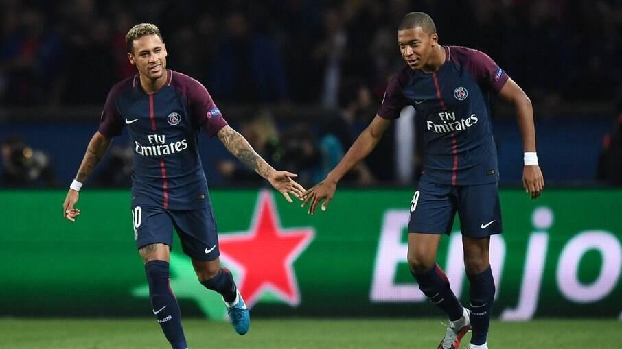 Neymar e Mbappé
