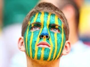 Torcedor brasileiro saiu frustrado do Mané Garrincha com a quarta posição no Mundial