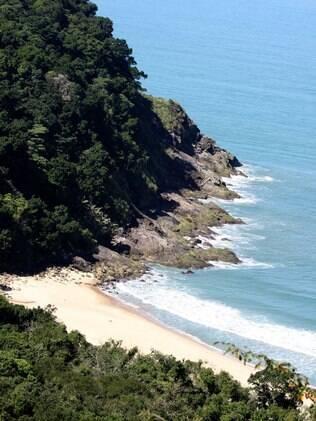 Praia Brava, em São Sebastião