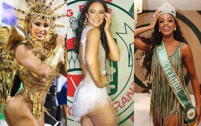 As Rainhas de Bateria que vão brilhar no Carnaval 2020