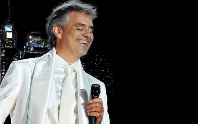 """Andrea Bocelli lança a pré-venda da edição comemorativa de """"One Night In The Central Park"""""""
