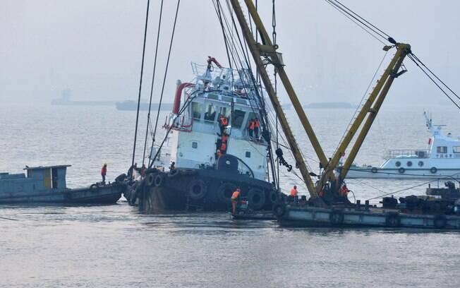 Segundo autoridades chinesas 22 pessoas morreram