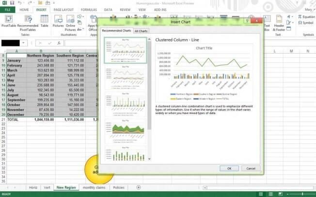 Office 2013 ganhou novos recursos para uso em telas sensíveis ao toque
