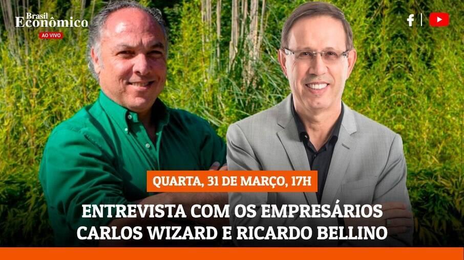A dupla será entrevistada na live do Brasil Econômico desta quarta-feira (31)