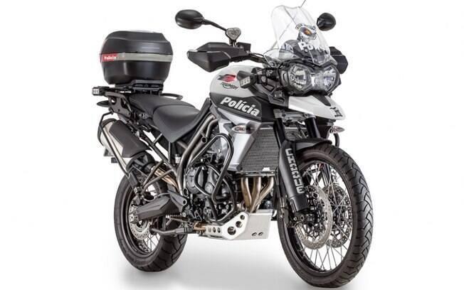 A Rocam começou 2017 com a aquisição das moderníssimas motocicletas Triumph Tiger 800XCx