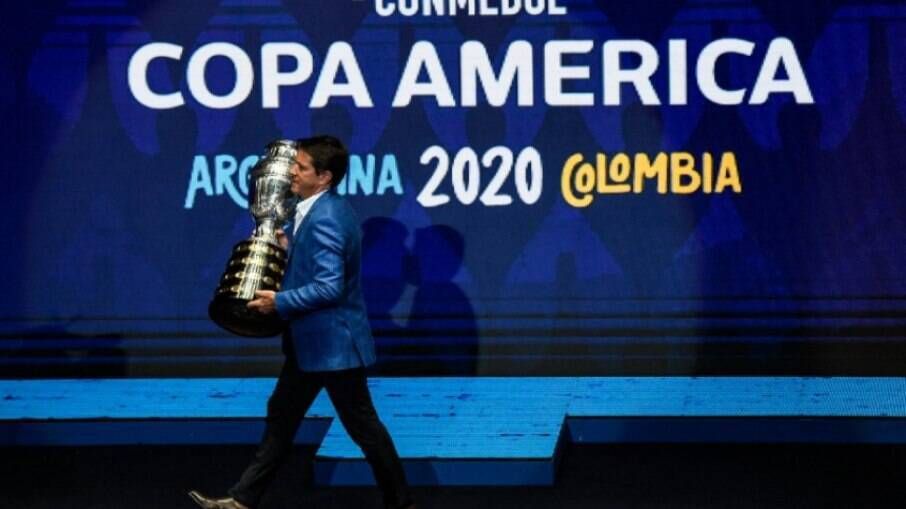 Copa América vê patrocinadores 'sumirem' para evitar desgastes