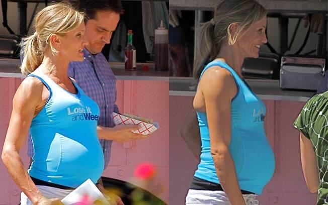 """Cameron Diaz será uma mãe sarada em seu próximo longa """"O que esperar quando você está esperando"""""""