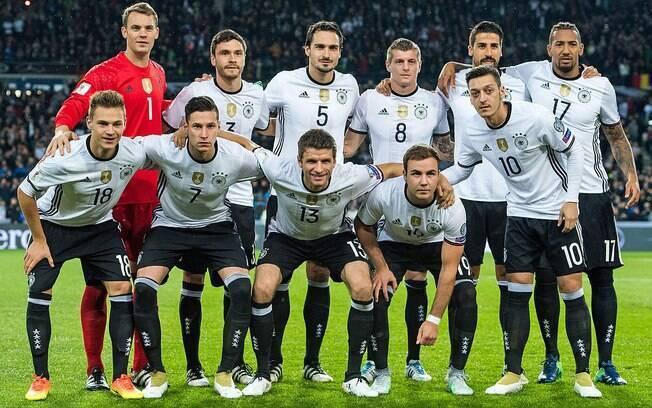 A Alemanha segue no topo do ranking da Fifa