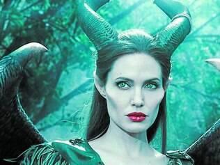 Vilã. Angelina Jolie afirmou que Malévola sempre foi seu personagem favorita, embora morresse de medo dela