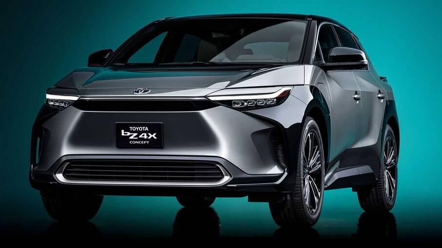 Toyota BZ4X Concept: ainda é um protótipo, mas a versão de produção deverá mudar muito pouco