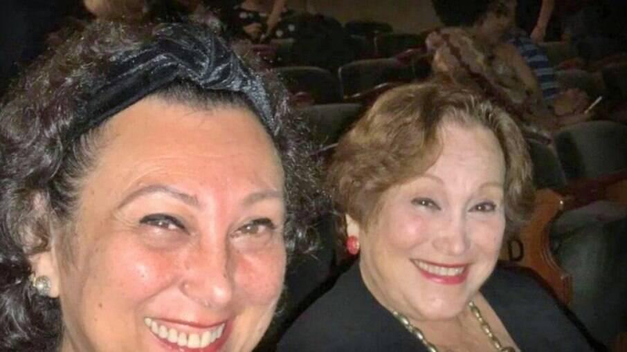 Barbara Bruno e a mãe, Nicete Bruno