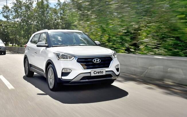 Hyundai Creta: exceto por detalhes nos para-choques e nos faróis, a cara do SUV quase não mudou nos últimos três anos