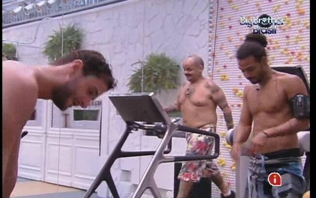 João Carvalho, Daniel e Ronaldo malham no fim de tarde