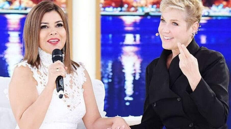 Mara Maravilha e Xuxa Meneghel