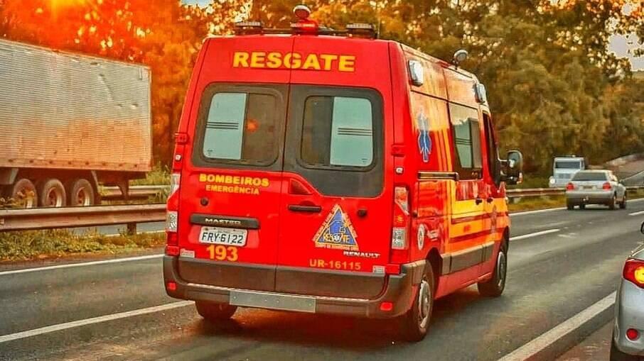 Carro de Resgate do Corpo de Bombeiros