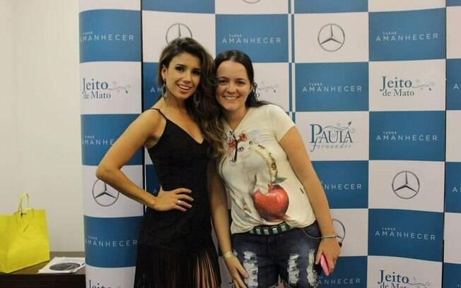 Venessa acredita que história de Paula Fernandes a ajudou superar desafios