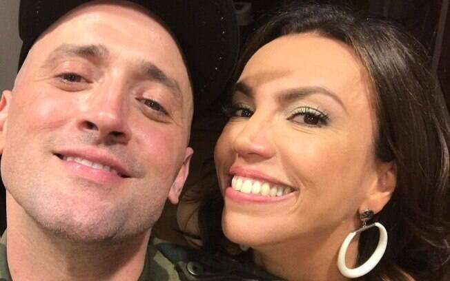 Paulo Gustavo e Ana Paula Araújo