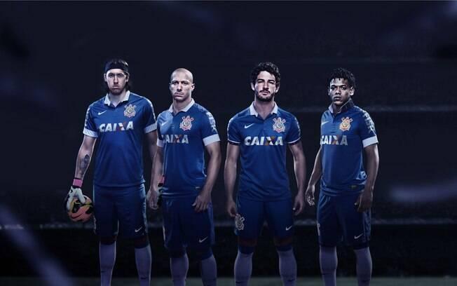 6f119c8f6801e Corinthians lançou a sua terceira camisa nesta quinta. Foto  Divulgação Nike