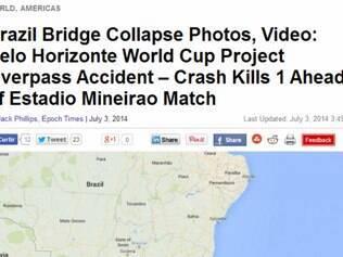 Ephoc Times: Acidente em ponte, na cidade de Belo Horizonte, deixa um morto