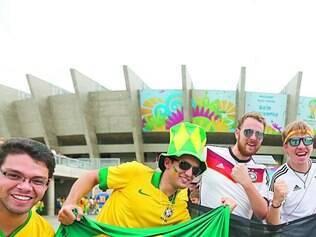 Outra visão. Em uma Copa do Mundo, o torcedor é visto como prioridade pelos organizadores