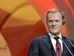 Donald Tusk, primeiro-ministro da Polônia, defendeu o ACTA na TV após os protestos