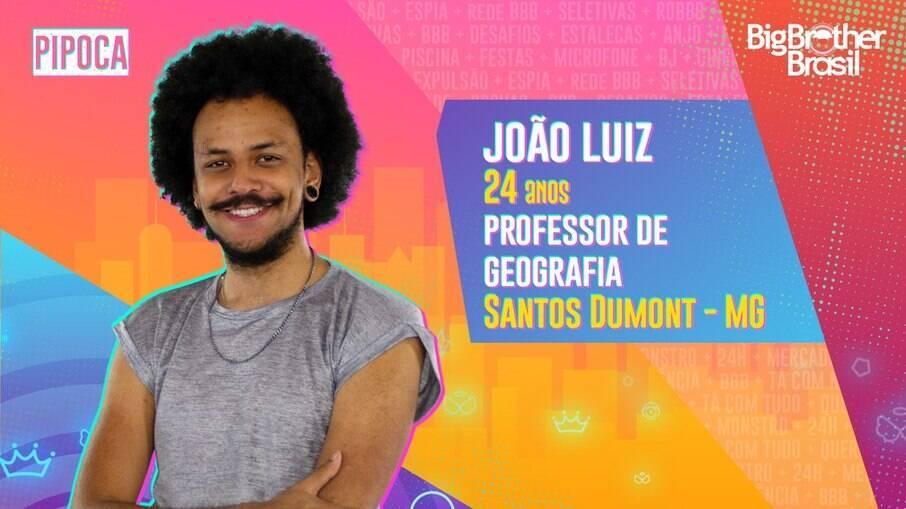 João Luiz, professor, participante do BBB21
