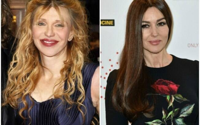 Courtney Love e Monica Bellucci