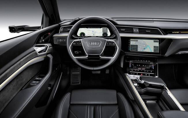 Seu interior carrega a nova linguagem visual da marca, com os equipamentos de última geração