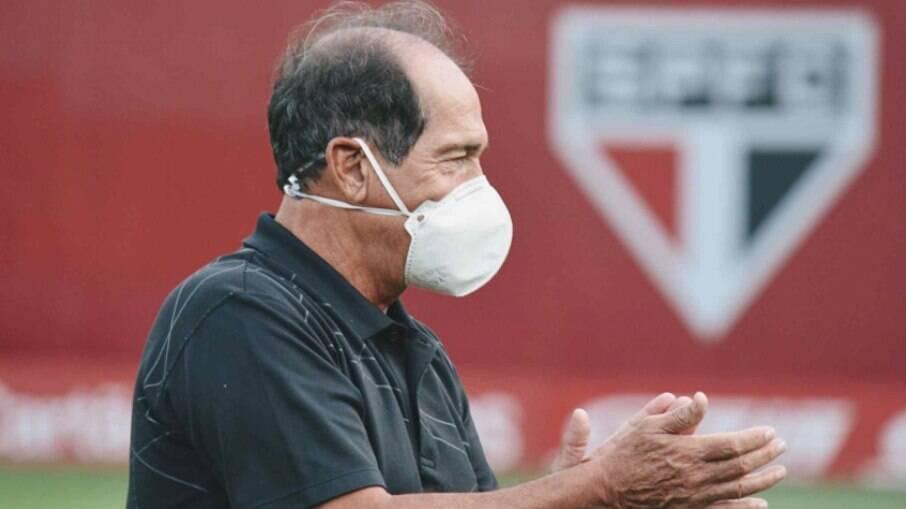 Muricy Ramalho segue no São Paulo após procura da CBF