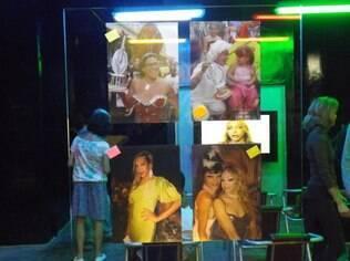 Exposição no Museu da Diversidade Sexual, na Estação República do Metrô