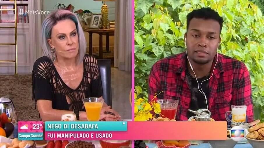 Nego Di e Ana Maria Braga