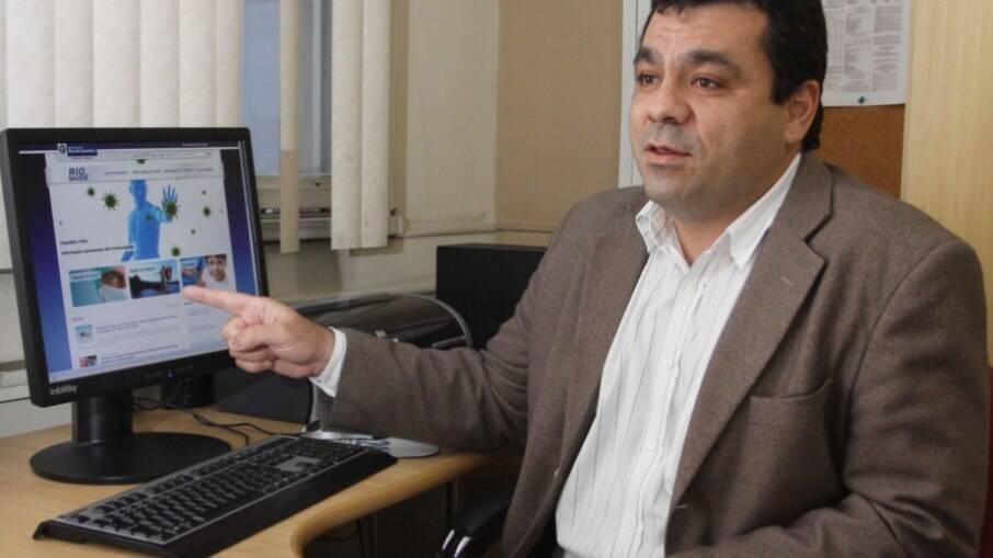 Secretário estadual de saúde do Rio de Janeiro, Alexandre Chieppe