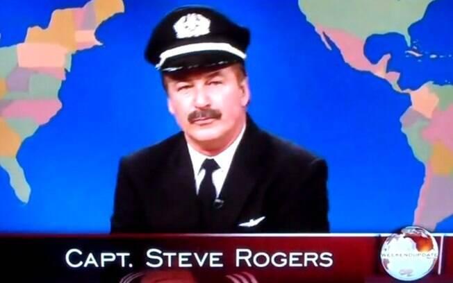 Alec Baldwin ironizou o episódio de sua expulsão no voo da American Airlines