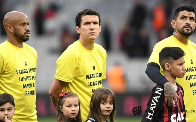 O Atlético Paranaense foi multado por realizar ato sem a autorização da CBF