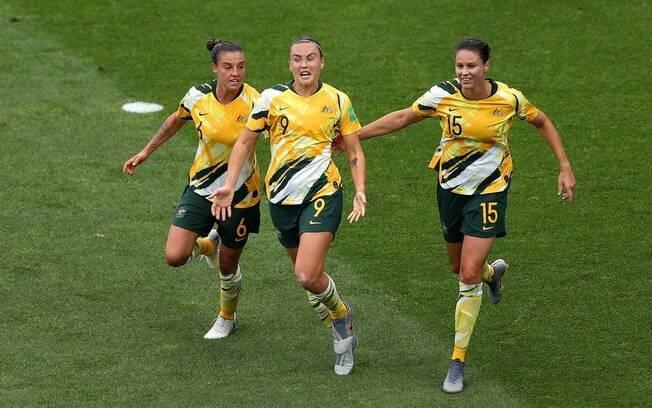 Austrália venceu o Brasil de virada por 3 a 2